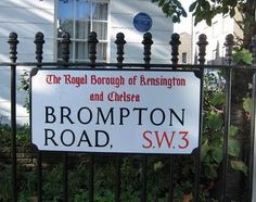 Shop: Brompton Road, Knightsbridge