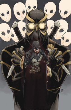Batman: Court of the Owls by Greg Capullo