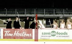 One of our all time favs!    Hockey Wedding from Darren Hull Studios
