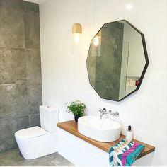 Beautiful Homes, Mirror, Bathroom, Interior, Furniture, Home Decor, House Of Beauty, Washroom, Indoor