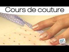 Comment faire une belle finition en couture - YouTube