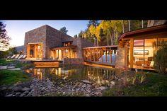 Telluride Luxury Real Estate: A Mountainside Modern House of Rock | Open House - WSJ.com