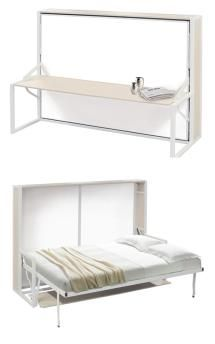 Thinking about getting a Murphy bed? Here are the different styles and options available so you can select the best Murphy bed for your home. Murphy Bed Desk, Best Murphy Bed, Murphy Bed Plans, Twin Wall Bed, Wall Beds, Murphy-bett Ikea, Horizontal Murphy Bed, Diy Bett, Free Standing Wall