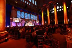 The National Building Museum, DC  www.ashleyevents.com       Ashley Events - Convention Management and Technical Production Company