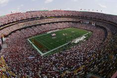 Landover, Maryland Located in Landover, Maryland, FedEx Field is home to the Washington Redskins. The 82,000-seat stadium was designed by the New York-based firm Populous in 1997.