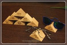 Mode 12 pcs En Bois lunettes de Soleil Présentoir Lunettes Montrant Porte-Bijoux En Rack Lunettes Accessoires D'affichage