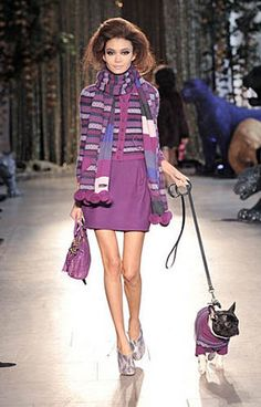 Mulberry. I love this so much more because of the dog.