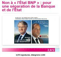 » BNP au Trésor, ça se confirme…
