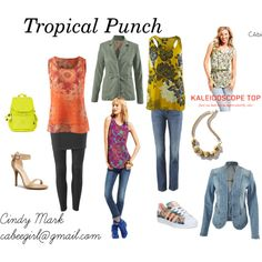 Tropical Punch by cabeegirl on Polyvore featuring CAbi