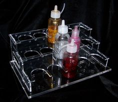 Scrap-booking, organizing, glitter glue holder Holds 16, Ladies come on lets get organized see TS HOBBIES.com