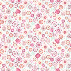 In my garden fabric by demigoutte on Spoonflower - custom fabric