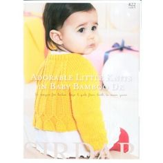 This Sirdar book containing 12 knits for boys and girls from birth to 7 years