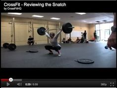 Reviewing the snatch