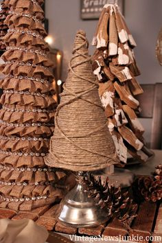 DIY: Twine Christmas Tree