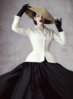 Miss Meadows' Vintage Pearls: Marion Cotillard for Dior Magazine