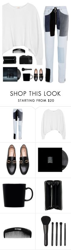 """""""Perception"""" by genesis129 ❤ liked on Polyvore featuring Off-White, Free People, iittala, Balenciaga, CO, shu uemura and Witchery"""