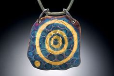 Deirdre Donnelly. Inspired by Irish Symbols. Cosmos Pendant