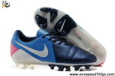 Buy 2013 New Nike CTR360 Maestri III Deep blue photo blue pink flash white Soccer Shoes For Sale
