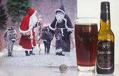 Samichlaus (Brauerei Schloss Eggenberg - Autriche) -  Calendrier de l'avent Saveur-Biere.com #BeeryChristmas -  Samichlaus (Saint-Nicolas) Und Schmutzli (Père Fouettard) mit Ihren Eseln (Schweiz / Suisse)