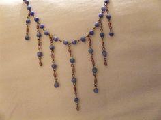 Necklace/Bracelet/Earrings Set by MyCynthiasJewelry on Etsy, $20.00
