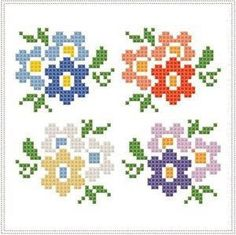 This post was discovered by Li Cross Stitch Beginner, Small Cross Stitch, Cute Cross Stitch, Cross Stitch Cards, Beaded Cross Stitch, Cross Stitch Borders, Crochet Cross, Cross Stitch Flowers, Cross Stitch Designs