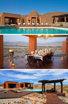 Get lost in the Namibian desert and escape to the breathtaking Okahirongo Elephant Lodge in the #Kunene region for that much needed getaway you deserve! #WanderlustWednesday #Namibia #PurrosValley #Desert