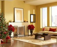 Superb Christmas Living Room Decorations On Living Room With Design Part 82