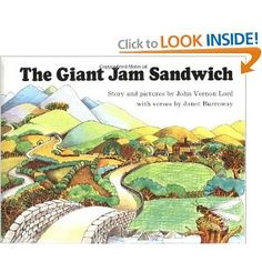 The Giant Jam Sandwich (Sandpiper Book) Was excited to find this in the library today.  Was a favorite of mine