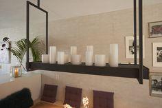 Decoreer je hanglamp met kaarsen, schelpen of bloemen!
