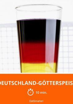 Deutschland-Götterspeise - smarter - Zeit: 10 Min. | eatsmarter.de
