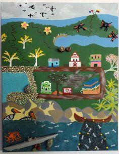 capurgana colombia painting