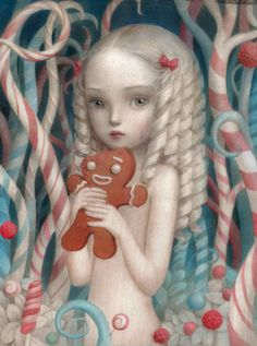 Image of BARBARA Limited Edition Print by Nicoletta Ceccoli