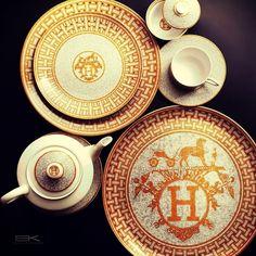 Hermes dinnerware
