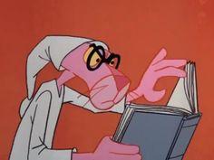 O Lobo Leitor: A Pantera Cor de Rosa gosta de ler antes de dormir...