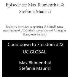 Ep 2020 May 15 Max Blumenthal & Stefania Maurizi Thomas Drake, Freedom, Pilgrim, Liberty, Political Freedom