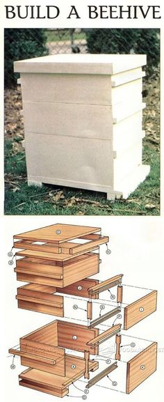 Beehive Build - Outdoor Plans and Projects | WoodArchivist.com