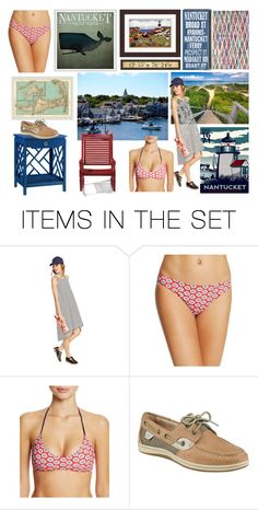"""New England Series, Nantucket MA"" by colonae ❤ liked on Polyvore featuring art"