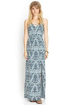 Geo Knit Maxi Dress | FOREVER21 - 2000068722