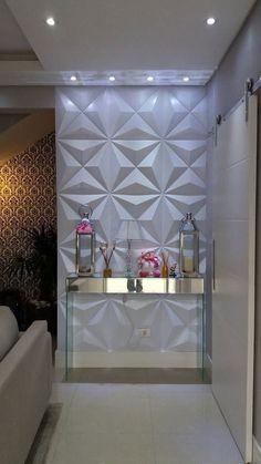 Decor, House Design, Sala, Interior Decorating, Home, Home Altar Catholic, Dining Room Combo, Salon Decor, Wall Design