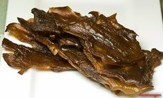 The 3 Foragers: Foraging for Wild, Natural, Organic Food: Hen of the Woods Recipe - Hen Jerky
