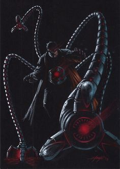 Doctor Octopus by Luca Strati