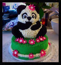 Panda bear cake                                                                                                                                                     Más