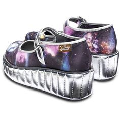 79eac8cc404 Gravity Women s Mary Jane Platform by Hot Chocolate Design Quirky Shoes