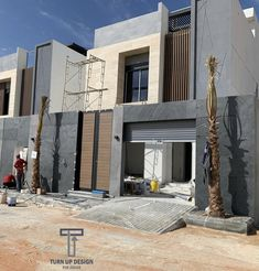 Architecture Building Design, Home Building Design, Building A House, Modern Exterior House Designs, Exterior Design, Facade House, House Exteriors, 2 Storey House, Model House Plan