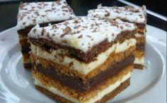 Chod: Zákusky a koláče - Page 11 of 254 - Mňamky-Recepty. Hungarian Desserts, Hungarian Recipes, Torte Cake, Sweet Cookies, Homemade Cakes, Sweet And Salty, Desert Recipes, Creative Food, Sweet Recipes