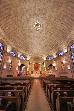 Inside the Basilica of St Lawrence in downtown Asheville, North Carolina. Open for tours. Asheville North Carolina, Winston Salem North Carolina, Visit North Carolina, North Carolina Vacations, Camping In North Carolina, Things To Do Inside, Ashville Nc, Camping San Sebastian, Camping In Texas