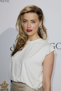 Amber Heard at Cannes 2014 #lookbook