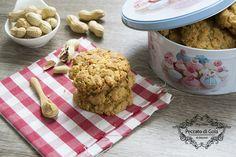 I cookies al burro d'arachidi sono irresistibili biscotti contenti questa famosa crema alle arachidi. Lasciatevi ispirare da questa prelibatezza americana!