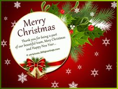 69 best christmas wishes messages and greetings images on pinterest christmas messages for employees m4hsunfo