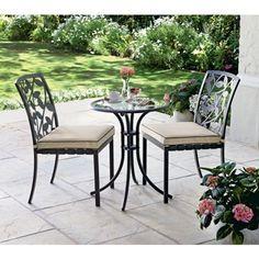 Lucca Bistro Garden Furniture Set